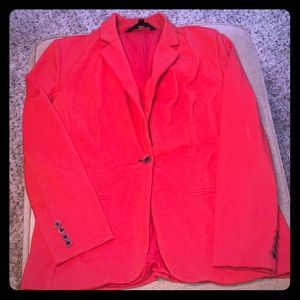Red Orange Blazer